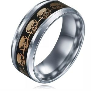 Other - Mens Stainless Steel size 10 ring